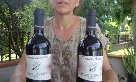 """Pons Caralis"": il vino di Cristina Rouwet"