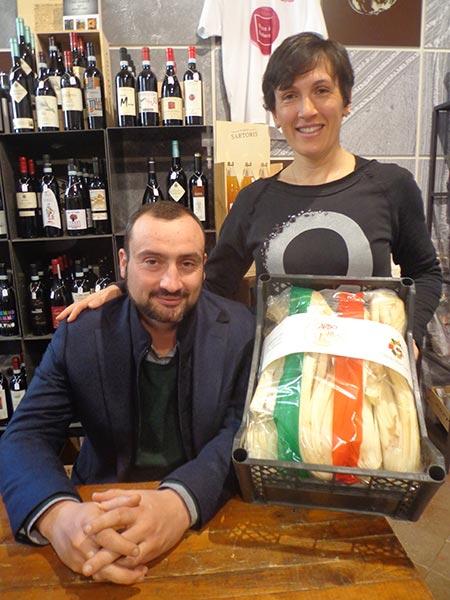 I produttori Mauro Damerio e Lorena Roggero